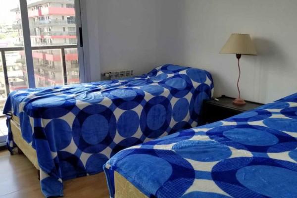 Departamento 2 dormitorios edificio TORRE SERENA 2 dormitorios 1 baño, cochera amoblado