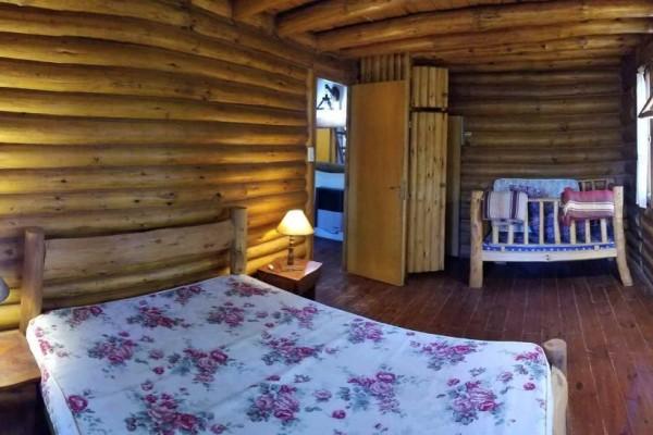 Cabañas de 2 dormitorios y ático o tercer dormitorio a 3 cuadras del mar